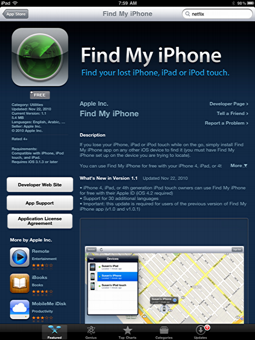 iphone ipad find my iphone ipad 2