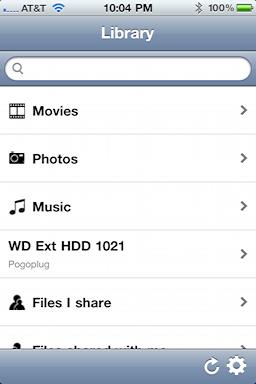 iphone pogoplug app mobile 1