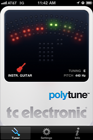 iphone polytune guitar tuner 1