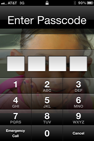iphone remote lock activated
