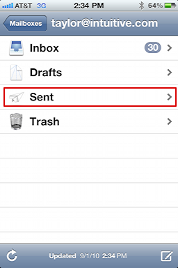 iphone sent mail messages 3
