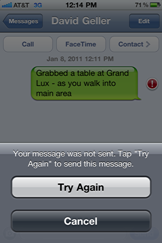 iphone sms text message failed 4