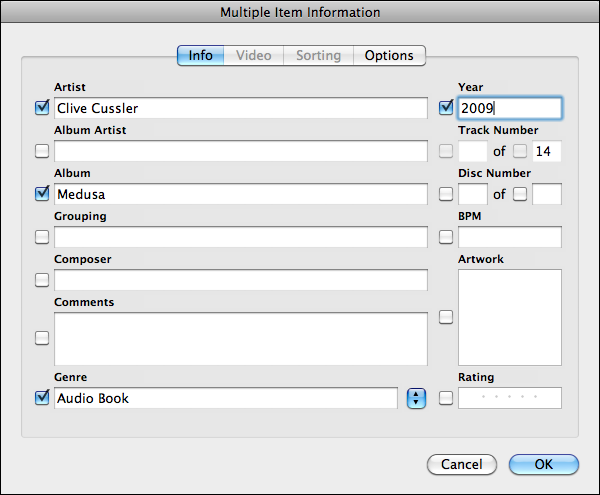 how to add a book to itunes