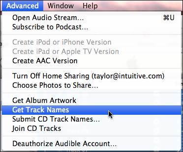 itunes import rip audio cd 3