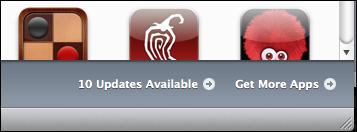 itunes update iphone apps 2