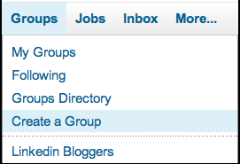 linkedin groups create group