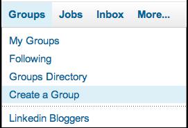 linkedin groups create group