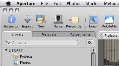 mac aperture device not showing up