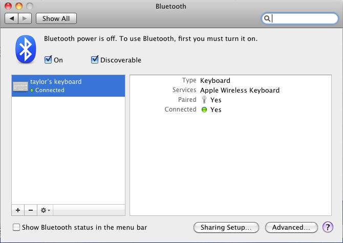 Were now mac mini bluetooth keyboard initial setup