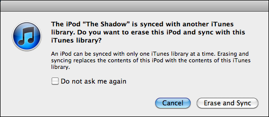 mac copy music ipod iphone itunes 1