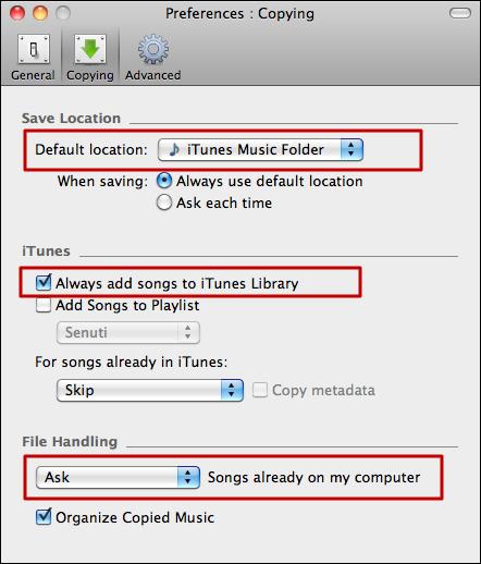mac copy music ipod iphone itunes 5