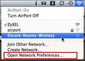 How do I get my Mac to forget a known/preferred wifi network