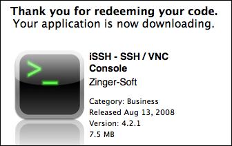 mac itunes redeem ipad app code downloading