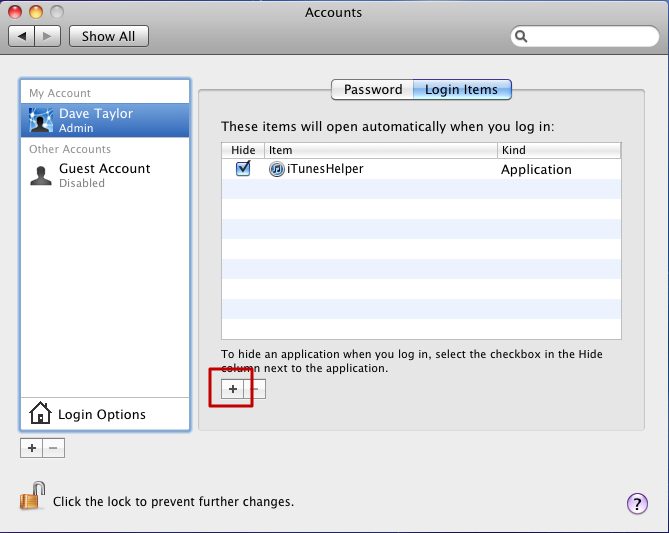 how to create a new itunes log in