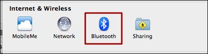 mac system preferences bluetooth