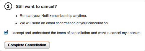 netflix how to cancel membership