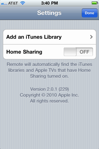how to turn on itunes home sharing on ipad 2