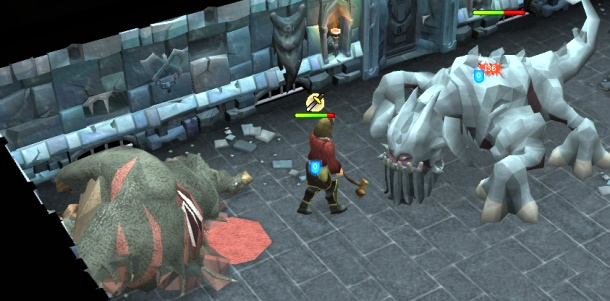 runescape dungeoneering fighting G Behemoth boss ... & Dungeoneering and Pursuing Quests in RuneScape - Ask Dave Taylor