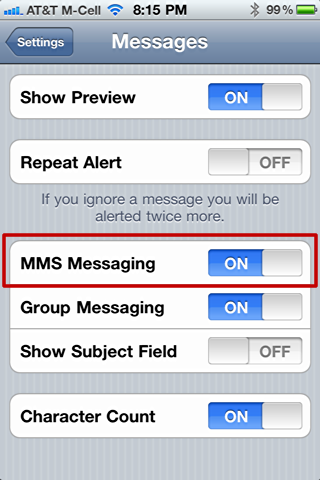 send photo text message sms iphone 2x