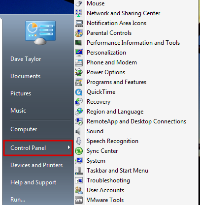 how to change start menu look in windows 7