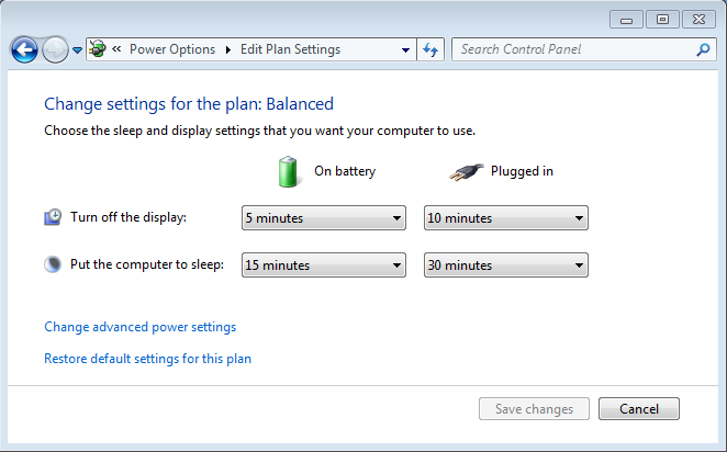 windows 7 power saving battery laptop 2