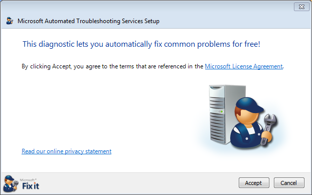 windows 7 xp sound troubleshooting tool 6