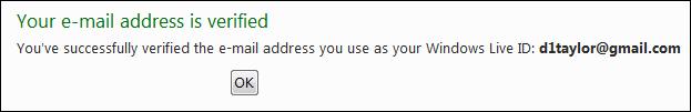 windows live verify email address 5