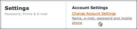 amazon change account password 2