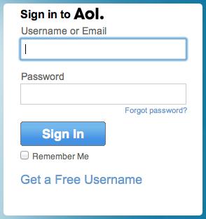 find aol mail