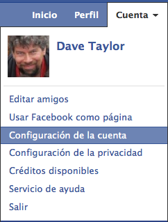 facebook fix default language spanish english 5