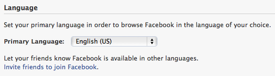 facebook fix default language spanish english 8