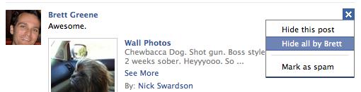 facebook hide unhide newsfeed friend 2