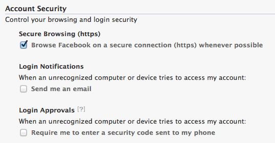 facebook login cellphone sms 2