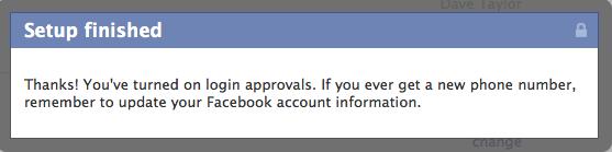 facebook login cellphone sms 8