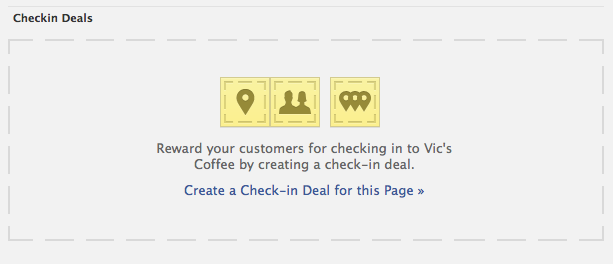facebook places deals setup 1