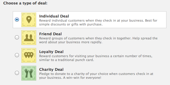 facebook places deals setup 2