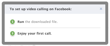 facebook video chat calling setup 6