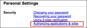 google accounts 2 step verification app password 1