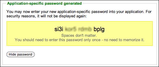 google accounts 2 step verification app password 6