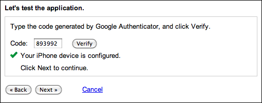 google gmail 2 step verification 8