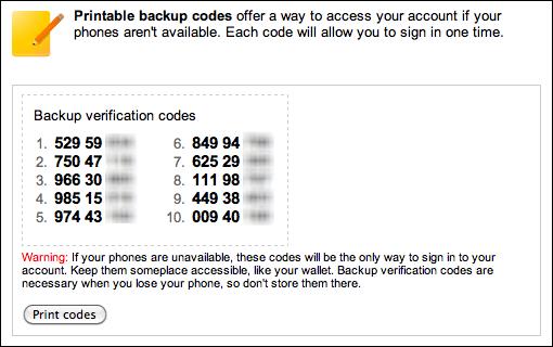 google gmail 2 step verification 9b