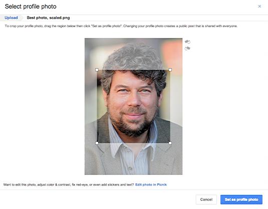 google plus change profile pic 8