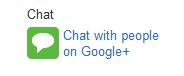 google plus configure chat 1