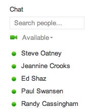 google plus configure chat 2