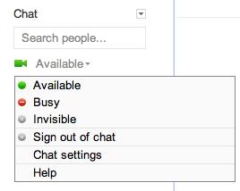 google plus configure chat 5