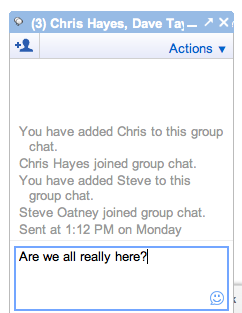 How can I have a group chat in Google Plus Chat? - Ask Dave Taylor