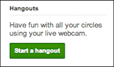 google plus start videoconference hangout 1