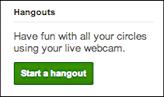 google plus start videoconference hangout 1