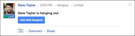 google plus start videoconference hangout 10