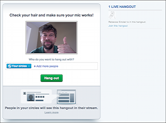 google plus start videoconference hangout 2